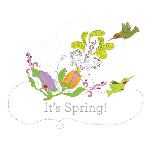 It's Spring!   Illustration